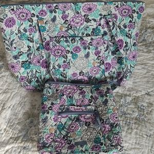 Vera Bradley bag set